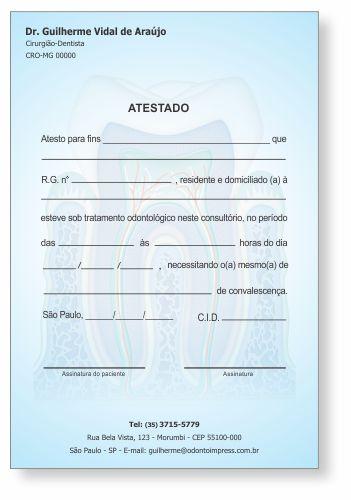 Atestado - Ref. 1051