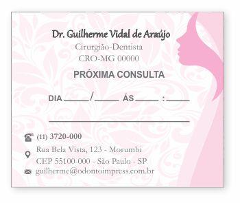 BLOCO PARA MARCAÇÃO DE RETORNO - HOF - REF. 1182
