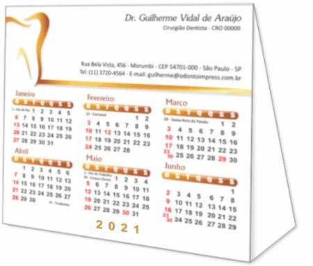Calendário de Mesa - Ref. 2793