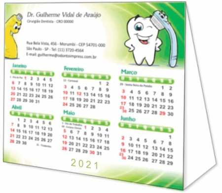 Calendário de Mesa - Ref. 2798