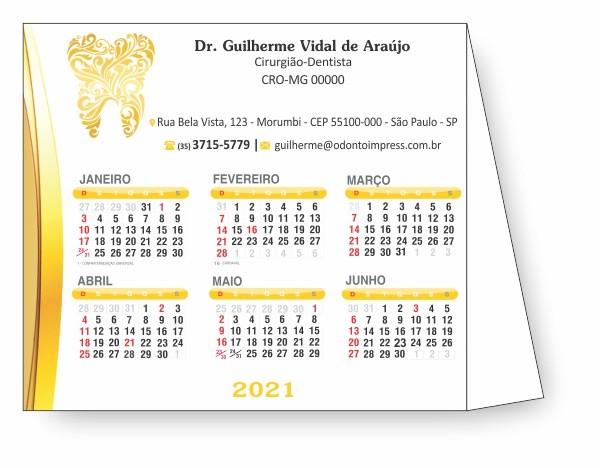 CALENDÁRIO DE MESA - REF. 2804