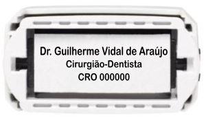 Carimbo Automático Personalizado - Ref. 3050  - Odonto Impress