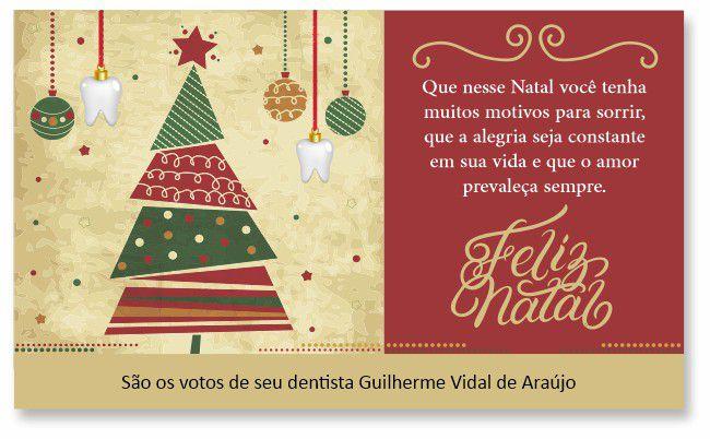 Cartão de Natal - Ref. 1628