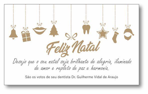 Cartão de Natal - Ref. 1631