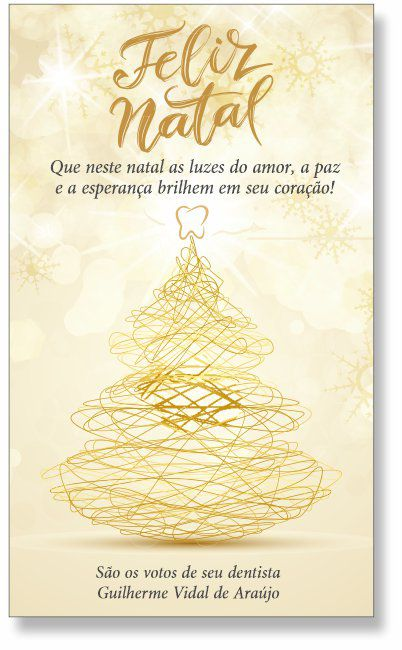 Cartão de Natal - Ref. 1629