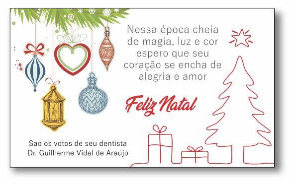 Cartão de Natal - Ref. 1633