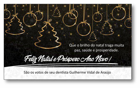 Cartão de Natal - Ref. 1635  - Odonto Impress