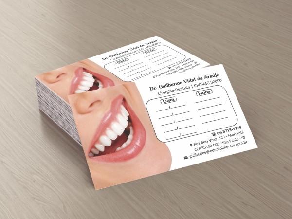 Cartão de Retorno - Ref. 2012  - Odonto Impress