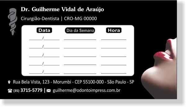Cartão de Retorno - Ref. 2014