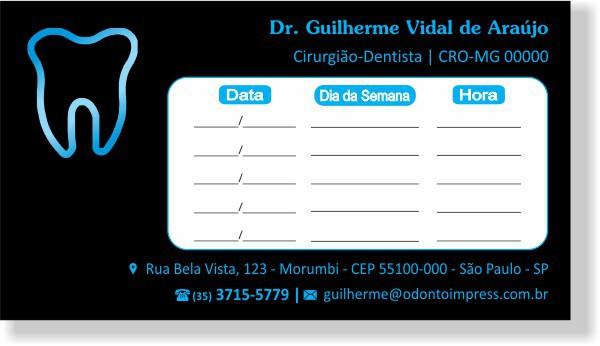 Cartão de Retorno - Ref. 2015