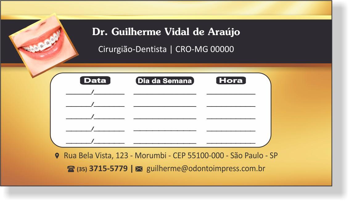 Cartão de Retorno - Ref. 2019