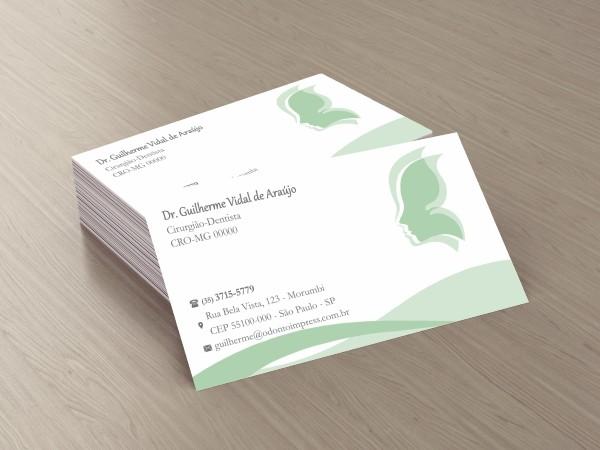 Cartão de Visita Classic HOF - Ref. 0876