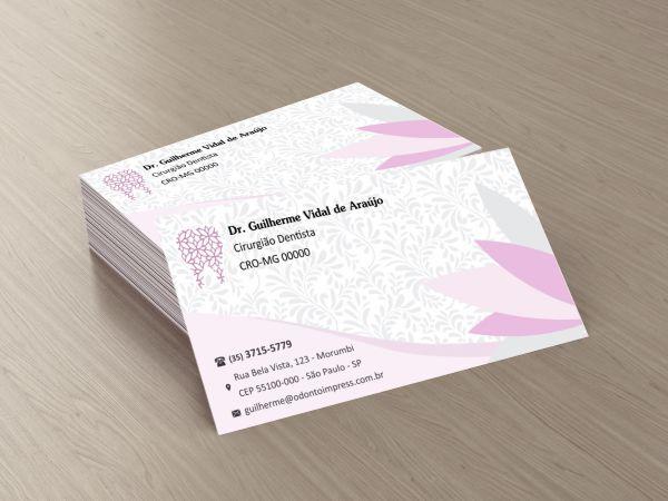 CARTÃO DE VISITA CLASSIC - REF. 0870