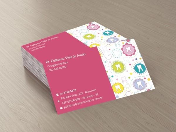 Cartão de Visita Classic - Ref. 0881