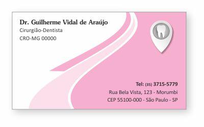 Cartão de Visita Classic - Ref. 0890
