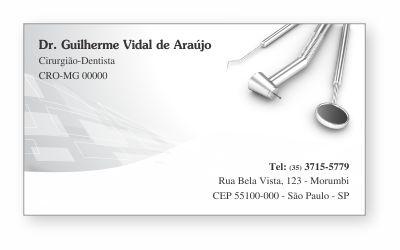 Cartão de Visita Classic - Ref. 0899
