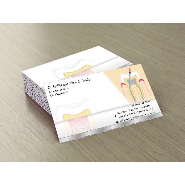 Cartão de Visita Premium ENDODONTIA - Ref. 1992