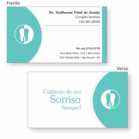 Cartão de Visita Premium - Ref. 0986  - Odonto Impress