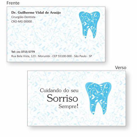 Cartão de Visita Premium - Ref. 0991  - Odonto Impress