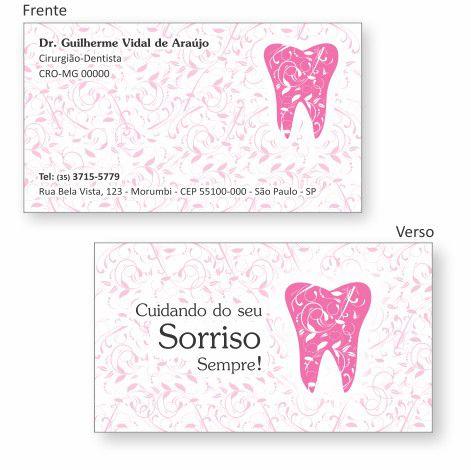 Cartão de Visita Premium - Ref. 0992  - Odonto Impress