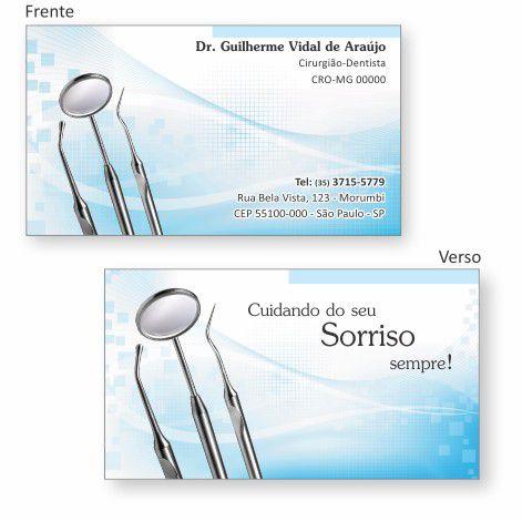 Cartão de Visita Premium - Ref. 0993  - Odonto Impress