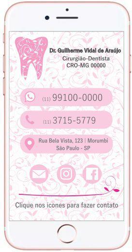 Cartão VIRTUAL INTERATIVO - Ref. 3902
