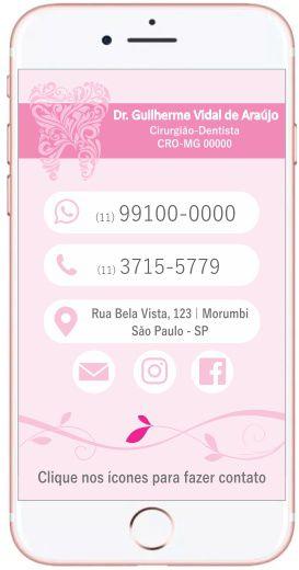 Cartão VIRTUAL INTERATIVO - Ref. 3900
