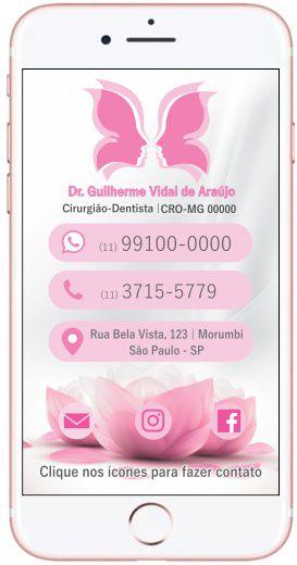 Cartão VIRTUAL INTERATIVO - Ref. 3909
