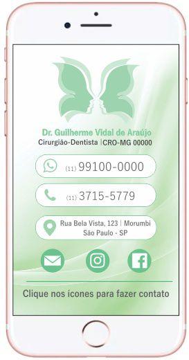 Cartão VIRTUAL INTERATIVO - Ref. 3910
