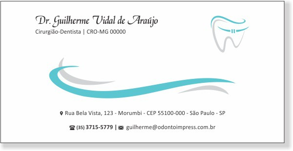 ENVELOPE OFÍCIO 23 X 11 CM - REF. 2966  - Odonto Impress