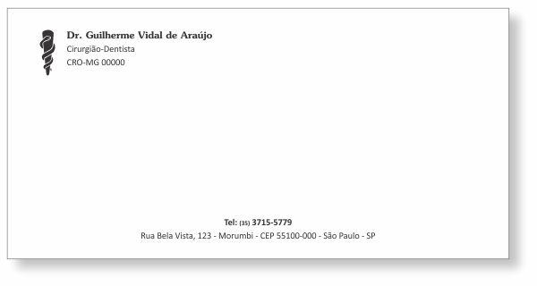 Envelope Ofício 23 x 11 cm - Ref. 3000