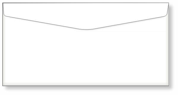 Envelope Ofício 23 x 11 cm - Ref. 3000  - Odonto Impress
