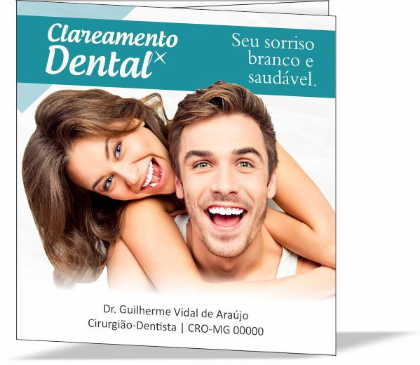 Folder CLAREAMENTO DENTAL - Ref. 3150