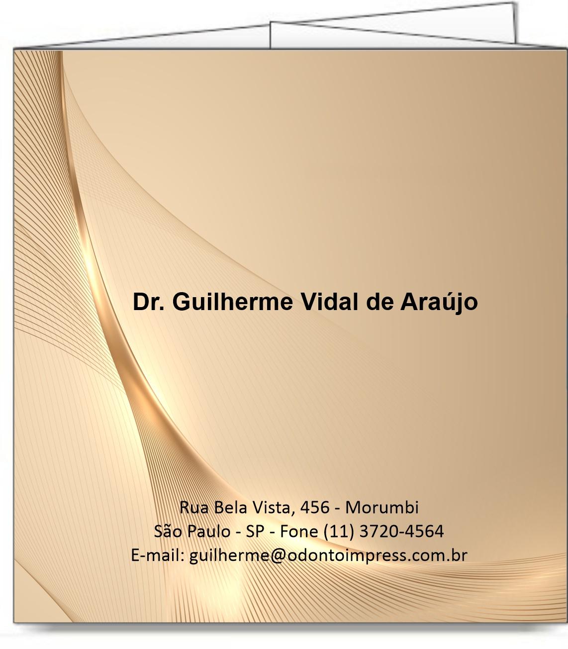 Folder de Harmonização Orofacial - Ref. 2117  - Odonto Impress