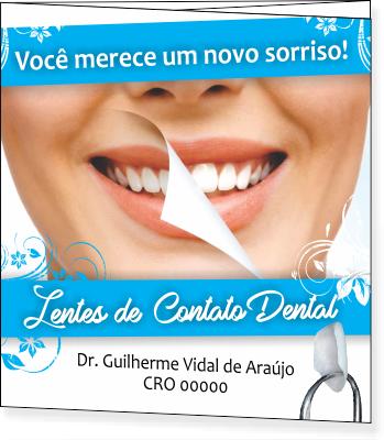 FOLDER DE LENTE DE CONTATO DENTAL - REF. 2097  - Odonto Impress
