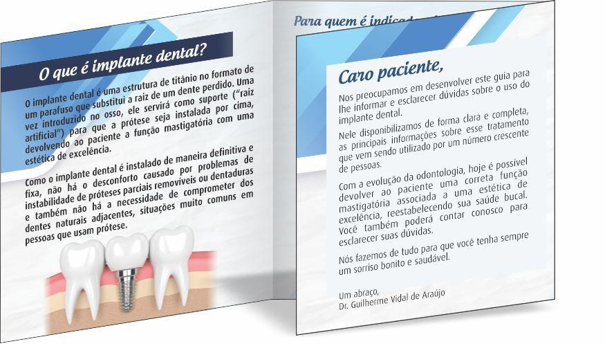 Folder IMPLANTODONTIA - Ref. 2108  - Odonto Impress