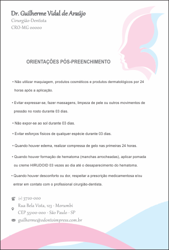 ORIENTAÇÕES PÓS-PREENCHIMENTO HOF - REF. 0579
