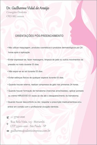 ORIENTAÇÕES PÓS-PREENCHIMENTO HOF - REF. 0582