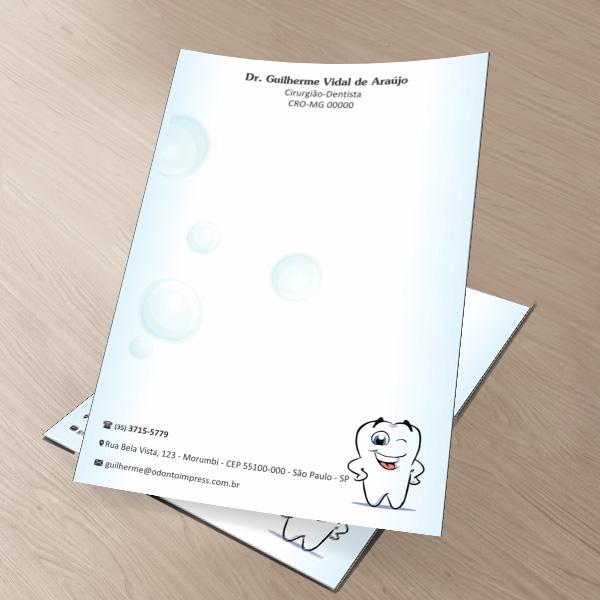 Receituário PEDIATRIA - Ref. 2631  - Odonto Impress