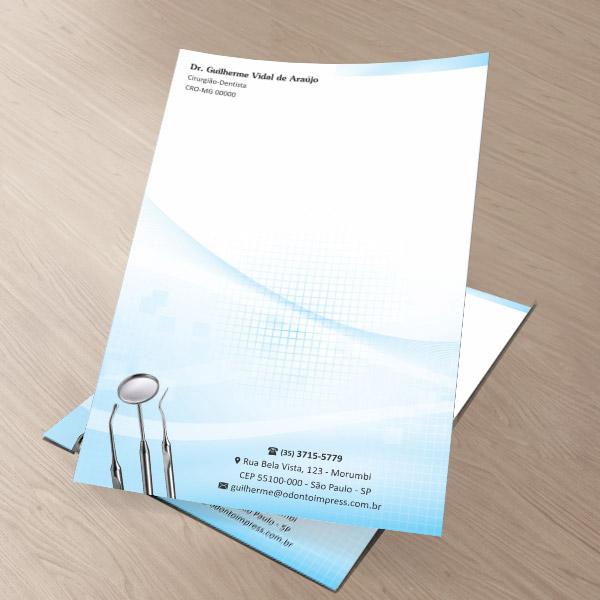 Receituário - Ref. 2593  - Odonto Impress