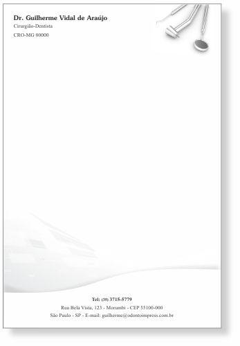 Receituário - Ref. 2599