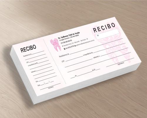 Recibo com Canhoto - Ref. 2685