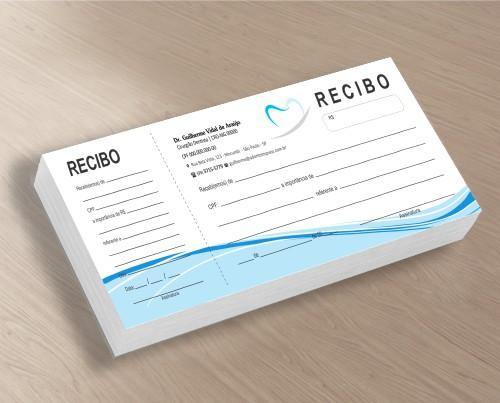 Recibo com Canhoto - Ref. 2687