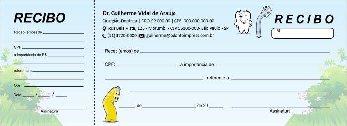 RECIBO COM CANHOTO - REF. 2732
