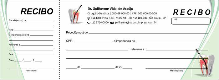 RECIBO COM CANHOTO - REF. 2753