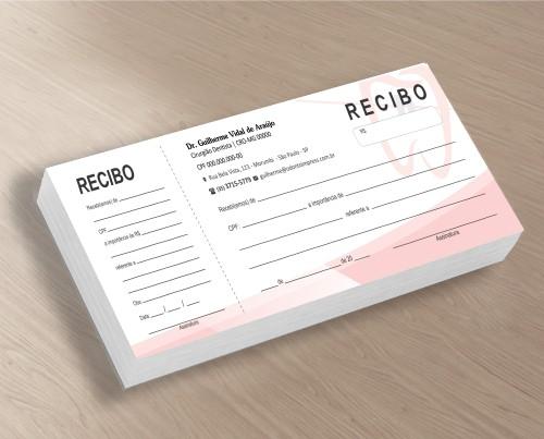 Recibo com Canhoto - Ref. 2769
