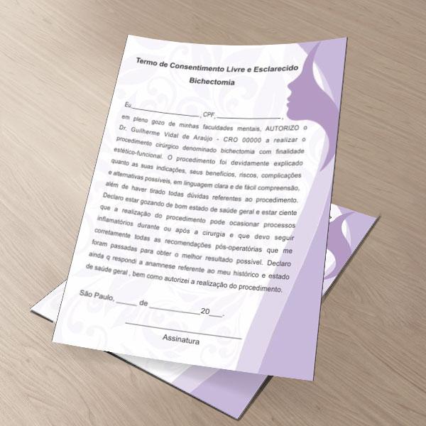 TERMO DE CONSENTIMENTO DE BICHECTOMIA - HOF - 0181