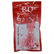 Fone de Ouvido P2 Stereo - Rosa