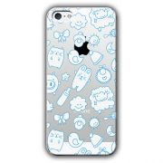 Capa Transparente Personalizada Exclusiva Apple Iphone 5/5S - TP12