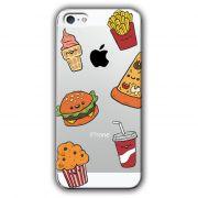 Capa Transparente Personalizada Exclusiva Apple Iphone 5/5S - TP106